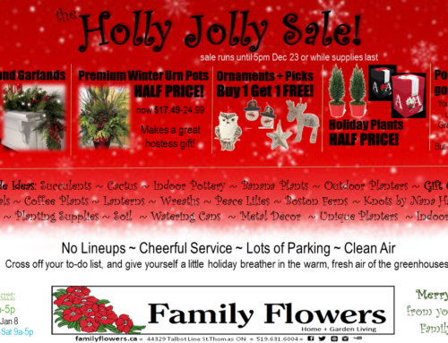 The Holly Jolly Sale is on now!